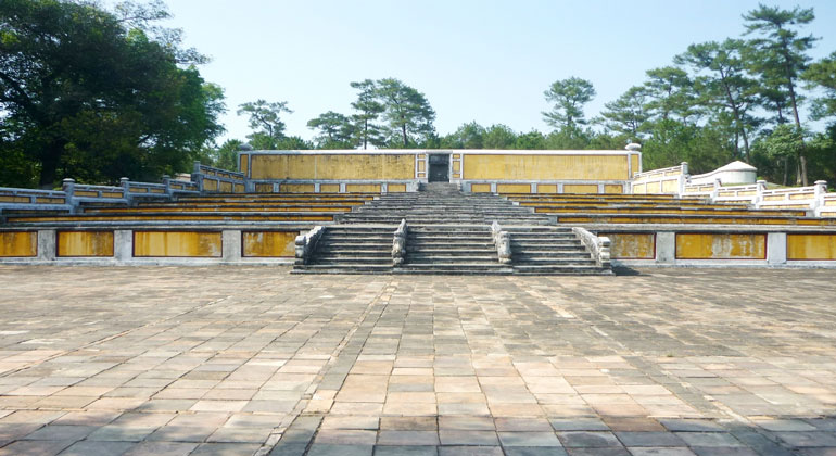 Day trips from Hue - Gia Long Emperor's Tomb