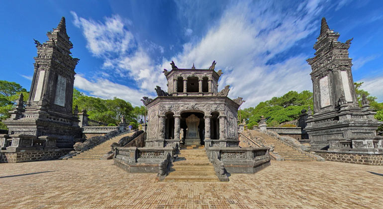 Day trips from Hue - Khai Dinh Emperor's Tomb