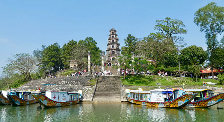 Hoi An to Hue day trip - Hue day trip from Hoi An - Dragon Boat