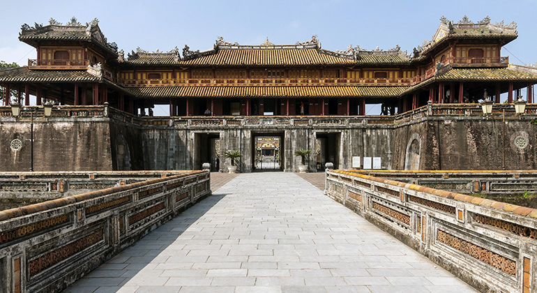 One day in Hue - Imperial City