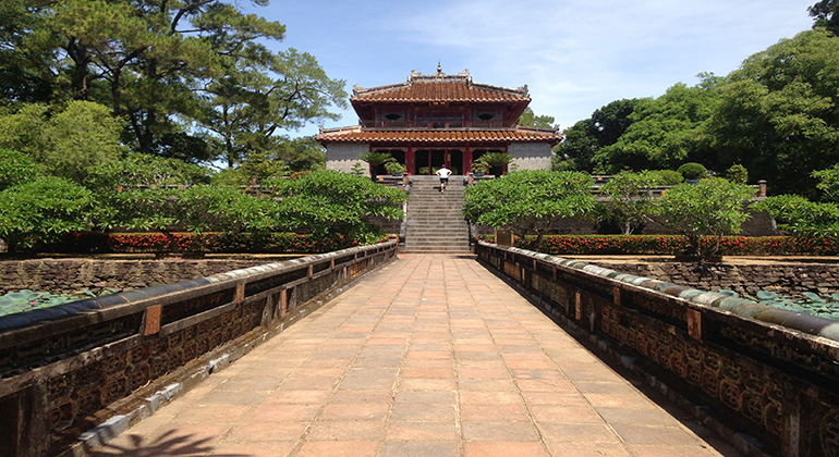 One day in Hue - Minh Mang Tomb