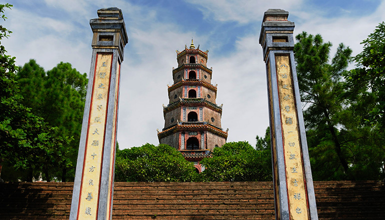 Da Nang to Hue Day Trip - Day trips from Da Nang - Thien Mu Pagoda