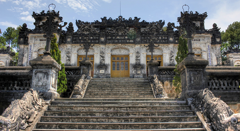One day in Hue - Khai Dinh Tomb