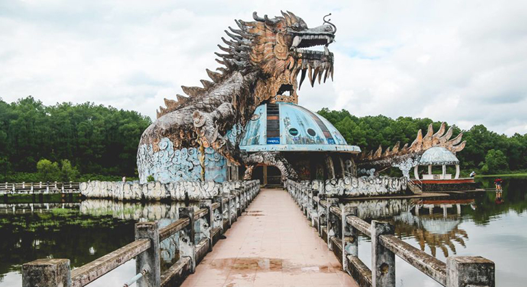 Fun things to do in Hue - Abandoned Waterpark