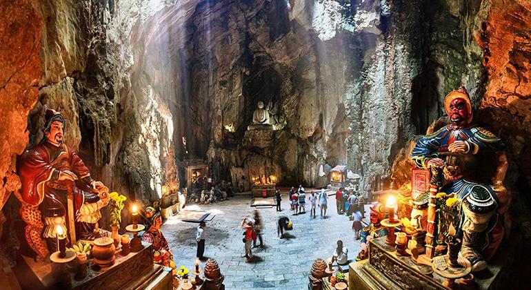 Exploring Central Vietnam: Danang Hue Hoi An Itinerary - Marble Mountains