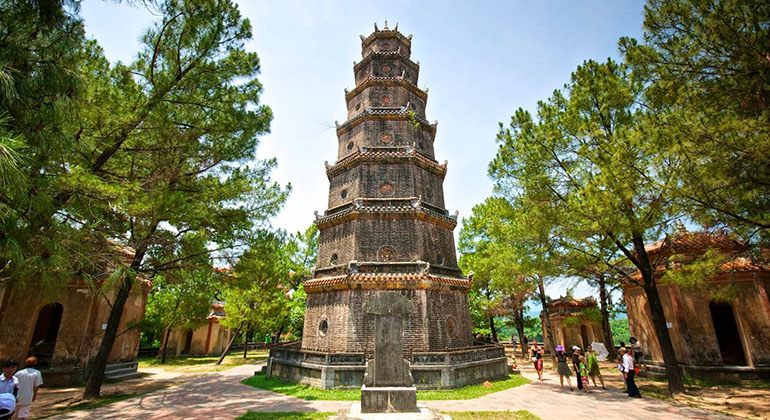Is Hue worth visiting - Where is Hue - Thien Mu Pagoda