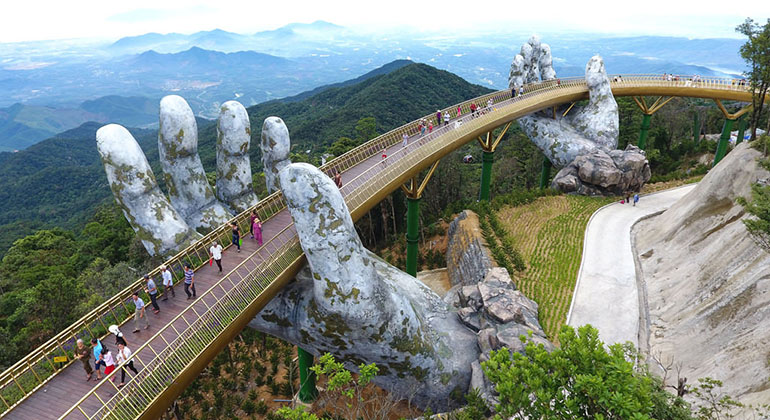 Best time to visit Danang - Best month to visit Danang - Golden Bridge
