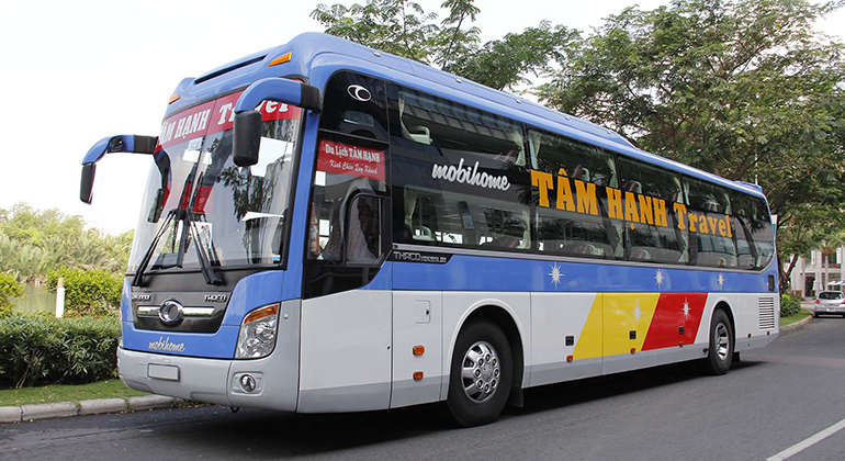 Travel from Nha Trang to Hoi an by bus