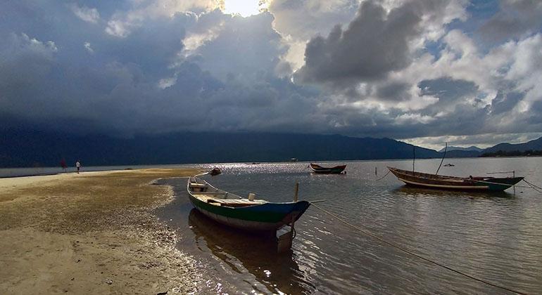 Hue to My Son to Hoi An by car - Lap An Lagoon
