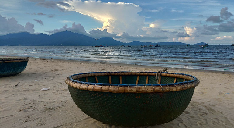 Hue to My Son to Hoi An by car - Lang Co Beach