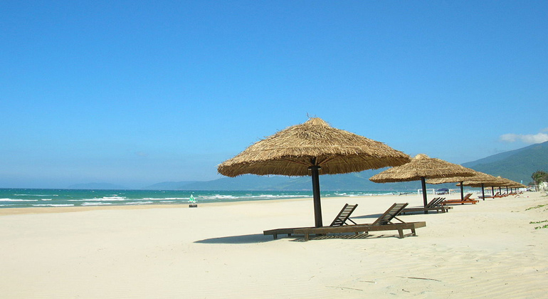 My Khe Beach from Hoi An