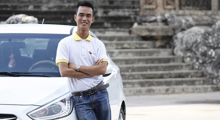 car rental per hours in Danang - Hoi An - Hue 1