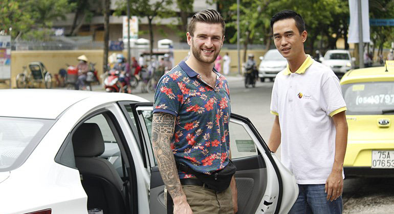 car rental per hours in Danang - Hoi An - Hue 4