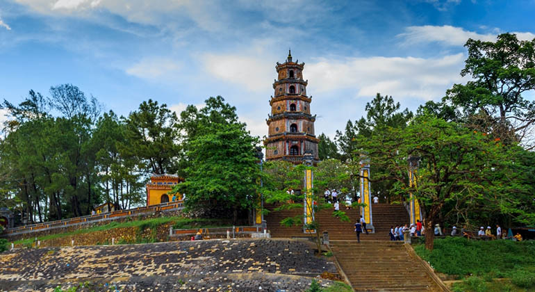 Hue city tour from Hoi An or Danang - Thien Mu pagoda