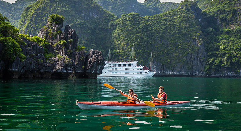 Halong bay 3 days 2 nights - La pandora cruises 14