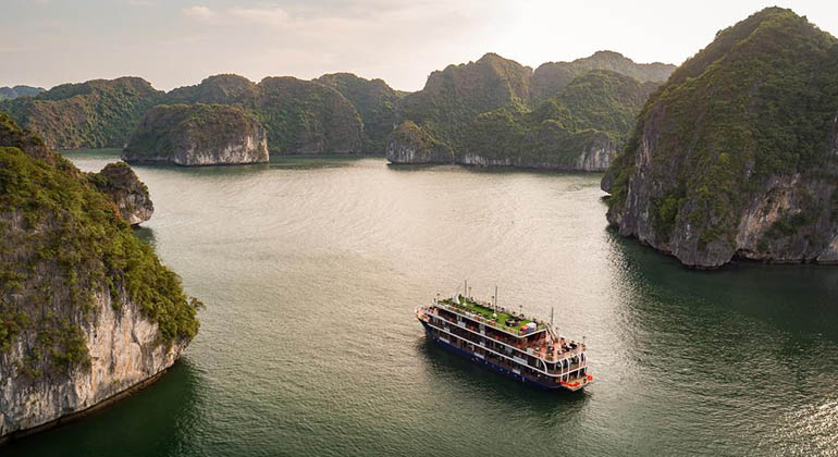 Halong bay 3 days 2 nights - La pandora cruises 4